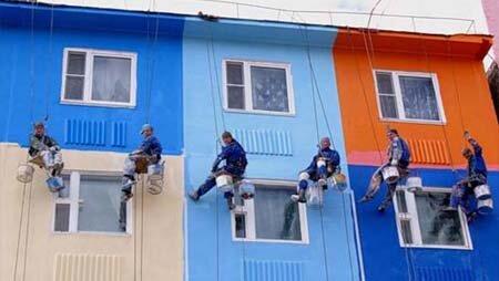 Фасадные работы в Уфе