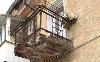 Какую нагрузку выдерживает балкон в панельном доме