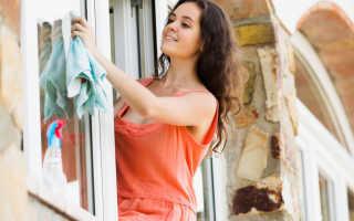 Как очистить стекла без разводов?