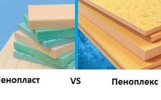 Что теплее пенопласт или пеноплекс?