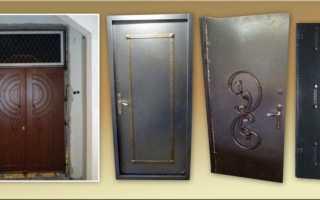 Как сварить металлическую дверь своими руками?